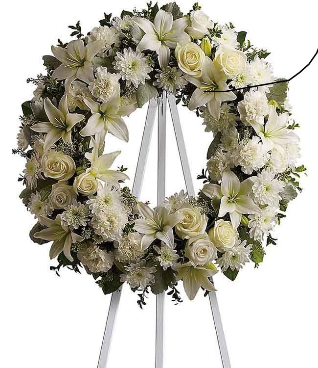 Ý nghĩa của những vòng hoa tang lễ theo màu sắc